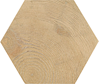 17,5x20 Hexawood Natural 21629