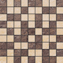 Декор 30х30 Crystal Mosaic Beige/Brown G-620/P+G-630/P